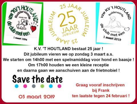 25 jaar KV 't Houtland