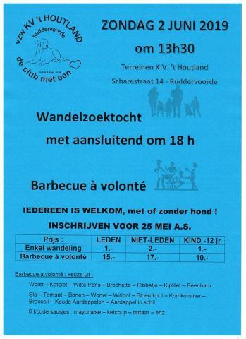 Hondenschool KV 't Houtland - Zoektocht